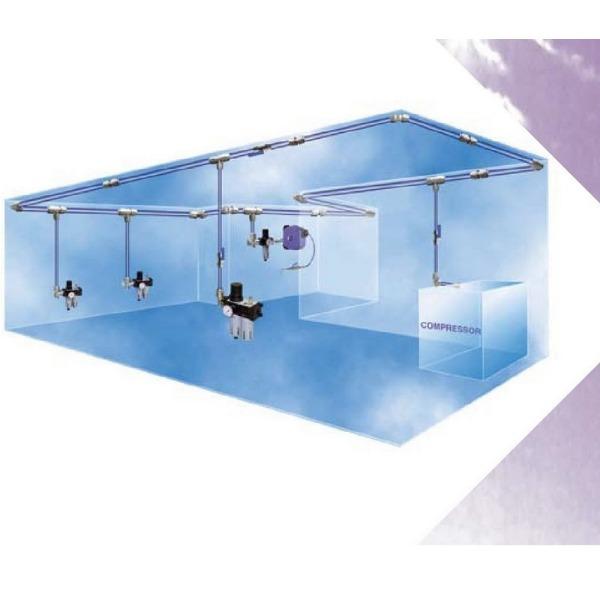 reseau air comprime r seau d 39 air comprim pneumatique brie industrie. Black Bedroom Furniture Sets. Home Design Ideas